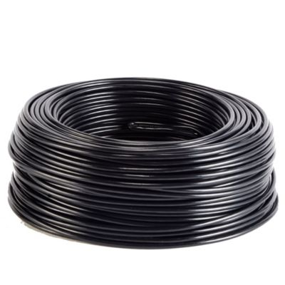 Cable THW 10 Negro x 100 m