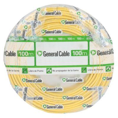 Cable THW 10 Amarillo x 100 m