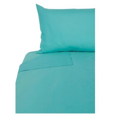 Juego de sábanas Fashion 150 hilos 1.5 plazas Aqua