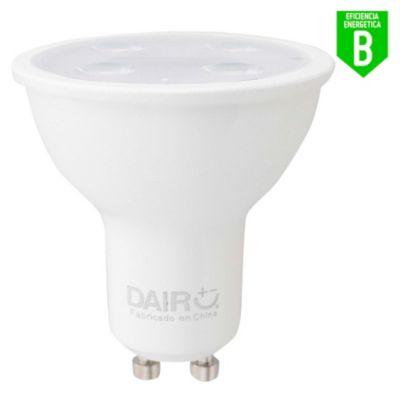 Focos LED Dicroicos 5.8W Gu10 Luz Amarilla