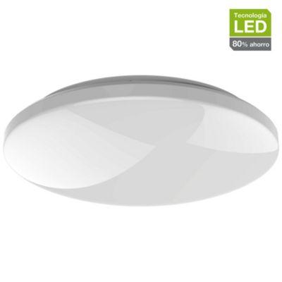 Plafón Led Basic luz blanca 20 cm
