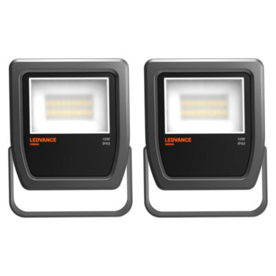 Combo 2 Reflectores LED 10W Negro