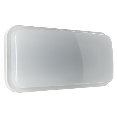 Aplique Exterior LED Rectangular Luz Blanca 20W