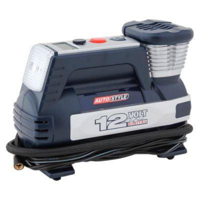 Compresora de Aire Digital para Auto 2 Pistones 12V