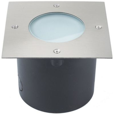 Panel Led Exterior Piso 7W Cuadrado
