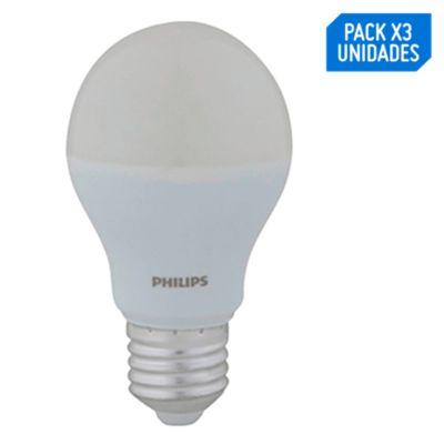 Pack x3 Foco LED Essential 9W E27