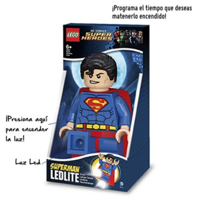 Lámpara de mesa Superman