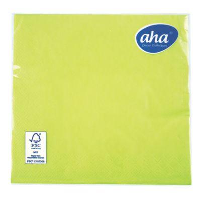 Servilleta de papel x 20 unid. Verde limón