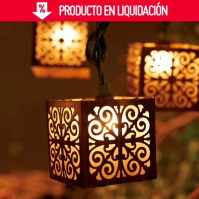 Guirnalda Decorativa a Batería 10 Luces LED