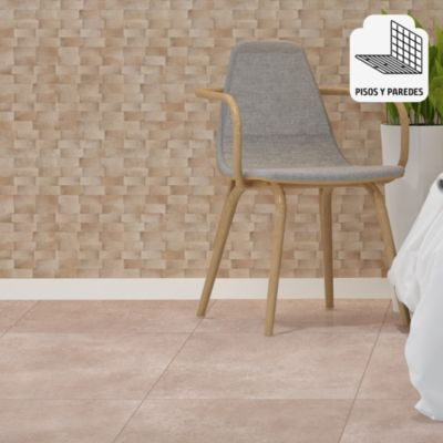 Gres Porcelánico Lille Beige Marmolizado 58x58 cm para piso o pared