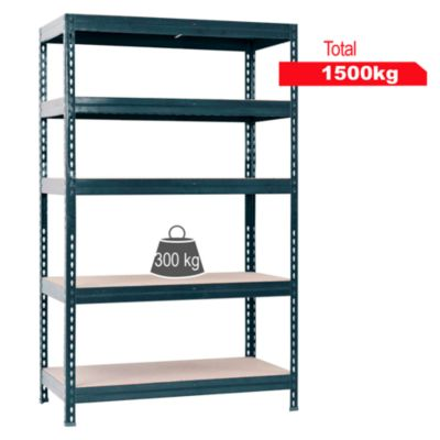 Estante de metal/madera 50x120x176cm Gorila