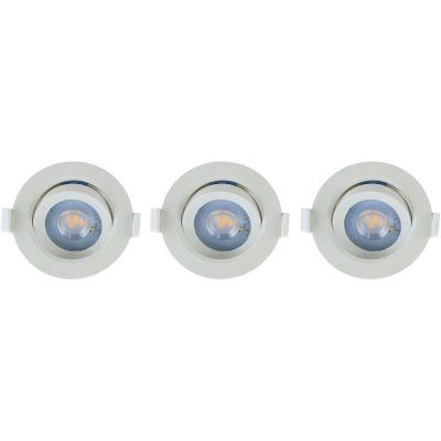 Spot LED 5W Luz Fría x 3 unidades