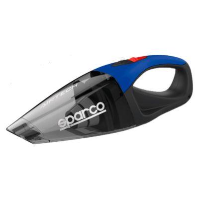 Aspiradora azul de 12V con accesorios