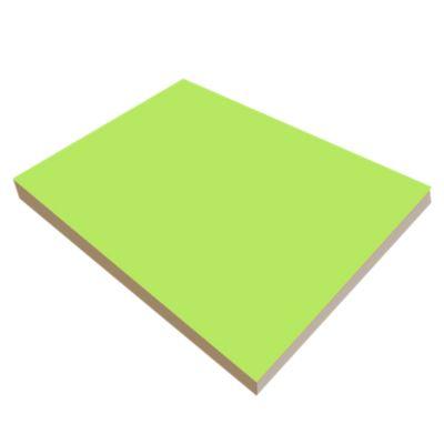 Tablón Melamina 18mm 1.83x2.50m Verde Limón