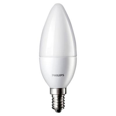 Foco LED Vela E14 / E27 3.5W Luz Blanca