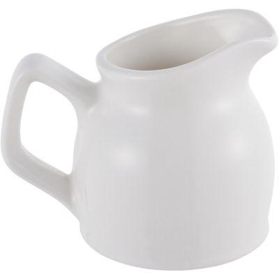 Cremería de Porcelana Blanca