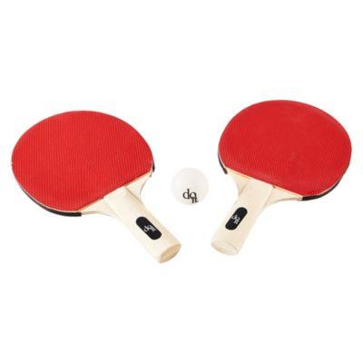 Set de 2 Paletas y 3 Pelotas de Ping Pong
