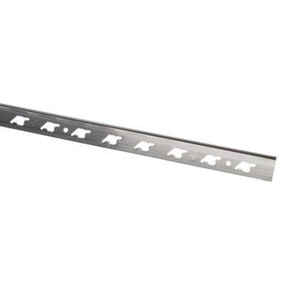 Rodón de Aluminio 8mm x 2.7m Plata