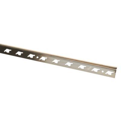 Rodón de Aluminio 10mm x 2.7m Titanio
