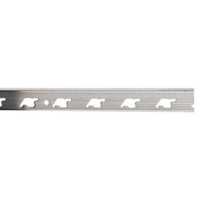 Perfil de Aluminio Brillante 8mm x 2.5m