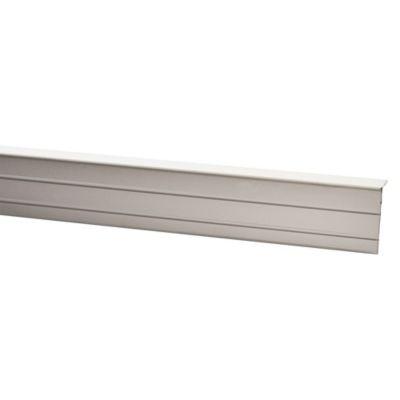Canto de Aluminio Mate con Adhesivo x 0.9m