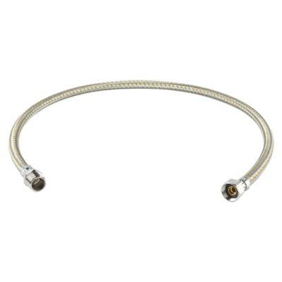 Tubo de Abasto de Aluminio para Gas 1/2''x1/2'' x 100cm