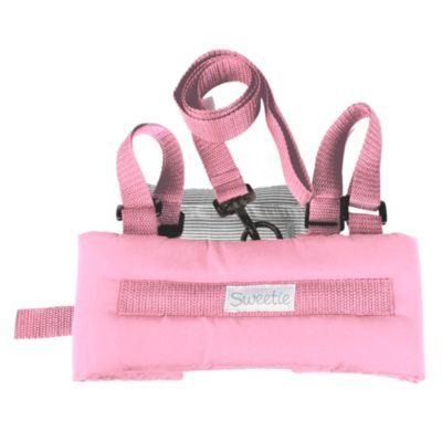 Arnés de seguridad rosado