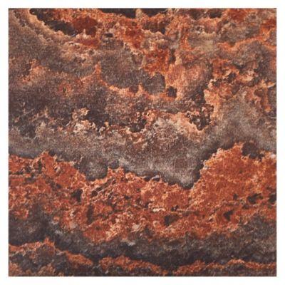 Muestra Porcelanato Brillante Marrón Claro 10 x 10 cm