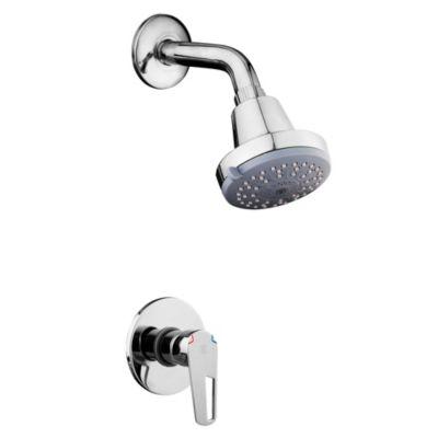 Mezcladora de ducha monocomando + Salida de ducha Aquarius