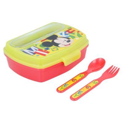 Sandwichera con Cubiertos Mickey
