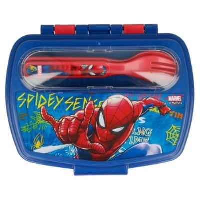 Sandwichera con Cubiertos Spider-Man