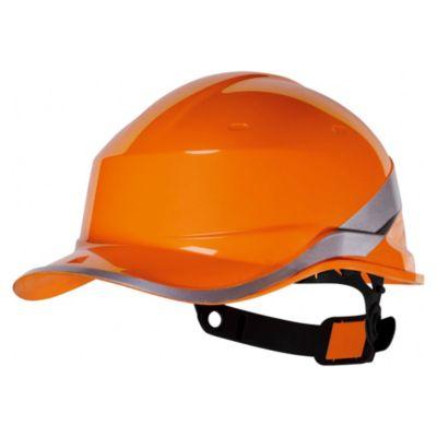Casco de Obra Diamond V Naranja