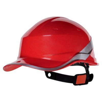 Casco de Obra Diamond V Rojo