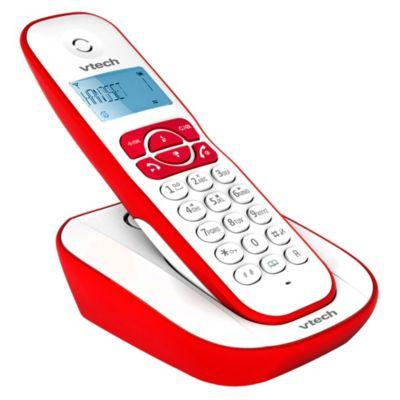 Teléfono Inalámbrico VT220R Rojo
