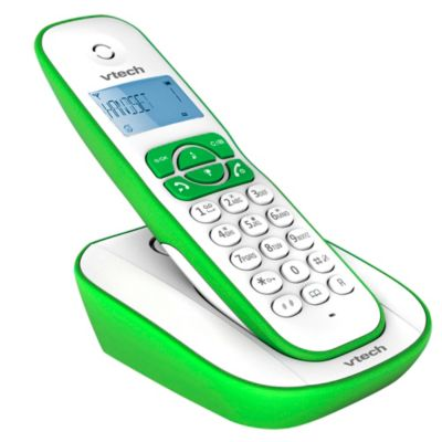 Teléfono Inalambrico VT220V Verde