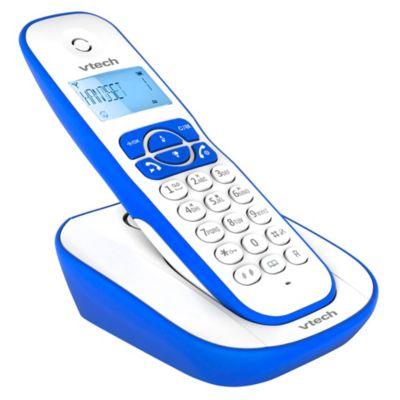 Teléfono Inalambrico VT220A Azul