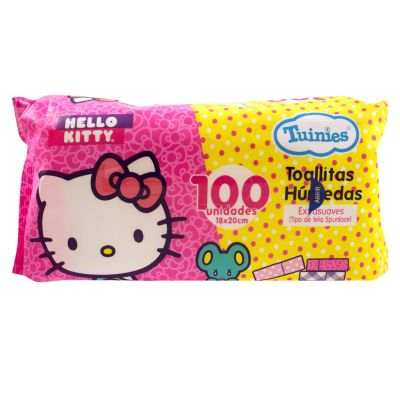 Toallas húmedas Hello Kitty x100und