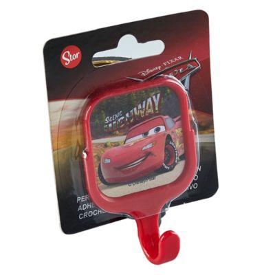 Percha Cuadrada Cars Rojo
