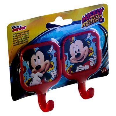 Percheros Cuadrados Mickey x 2 Unidades