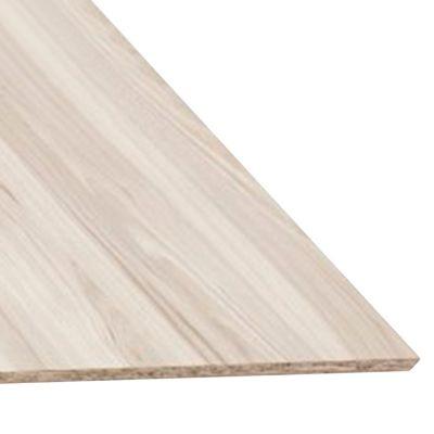 Tablero Melamina Castaño Blanco 18mm 1.83x2.5m
