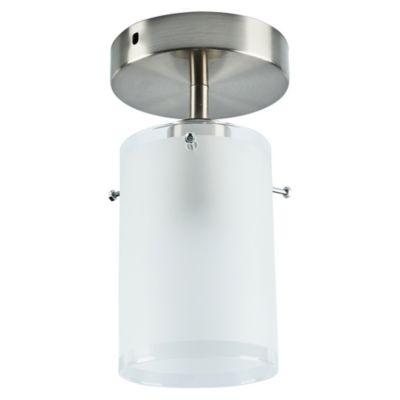 Lámpara de Techo Met Cromo 1 Luz