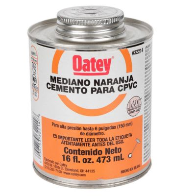Pegamento CPVC 16 Oz Naranja