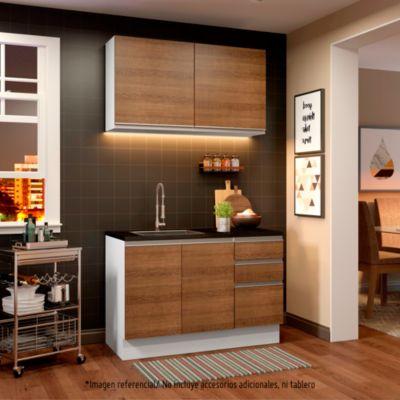 Mueble de cocina Modular Glamy 120 cm