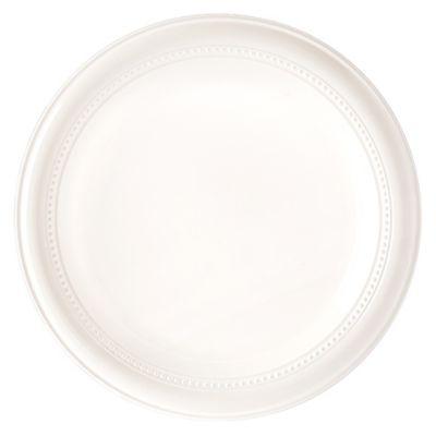 Plato de Plástico x 20 Unidades Blanco