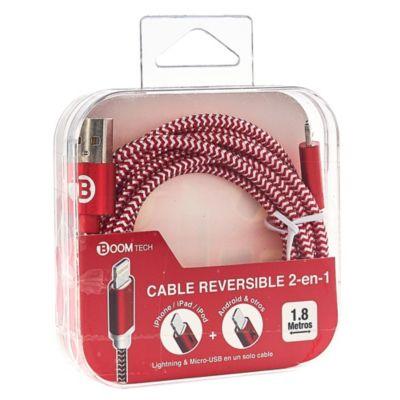 Cable Reversible 2 en 1 Mundial 1.8 m