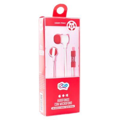 Audífonos con Micrófono Mundial 1.2 m
