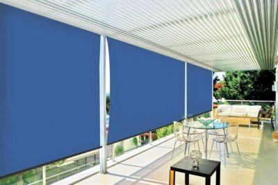 Toldo Retráctil Vertical 1.5x3m Azul