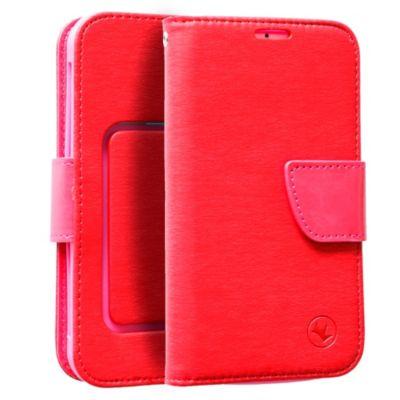 Case Flip Universal 5.0'' a 5.5'' Rojo