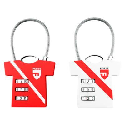 Pack Candado Camiseta Perú x 2 Unidades