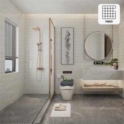 Cerámica Brick Memphis Blanco 30x60 cm para pared